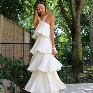 Rachel Zoe Adelaide Tiered Maxi Dress